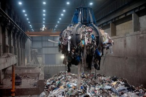 Garbage at an Incinerator in Oslo, Norway / Photo Courtesy of the New York Times