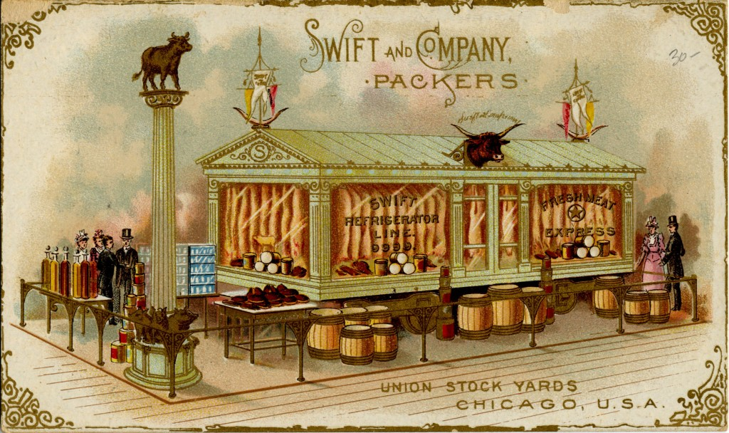 Swift and Company Packers Illustration Photo Courtesy of AAS Online Exhibition