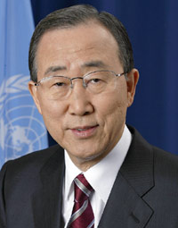 UN Secretary General Ban Ki-Moon / Photo Courtesy of the UN