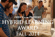 Hybrid Learning Award | Fall 2014