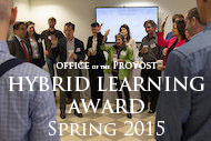 Hybrid Learning Award | Spring 2015