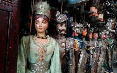 World Epics in Puppet Theater: Italy, India, Iran, Japan