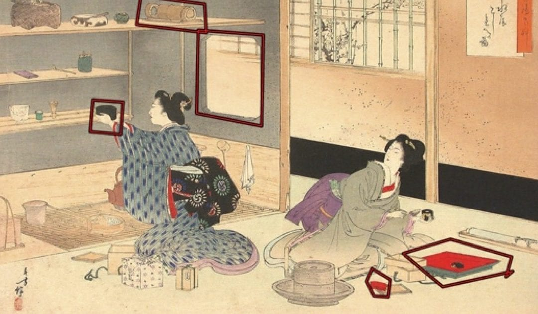 Material Analysis: Studying the Japanese Tea Ceremony