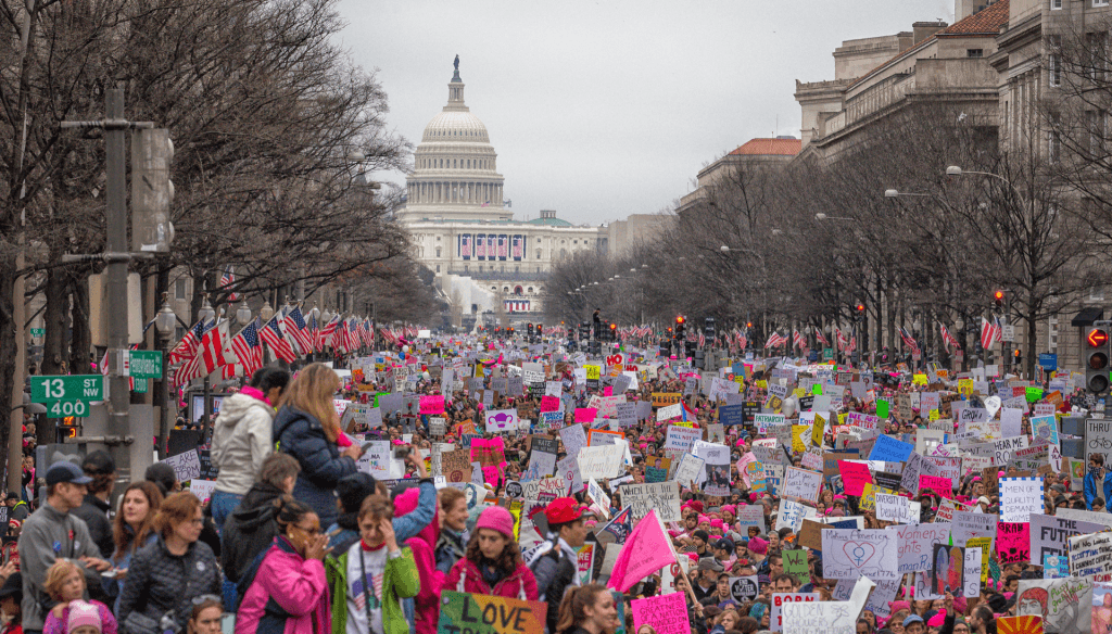 Women's March photo