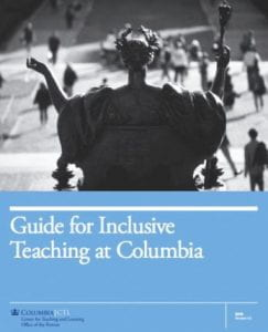 Guide for Inclusive Teaching at Columbia