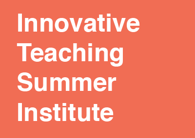 Innovative Teaching Summer Institute