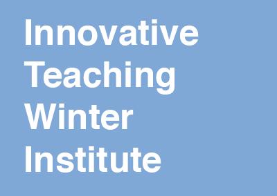 Innovative Teaching Winter Institute