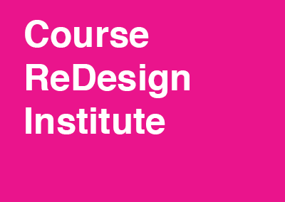 Course Redesign Institute