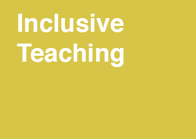 Inclusive Teaching