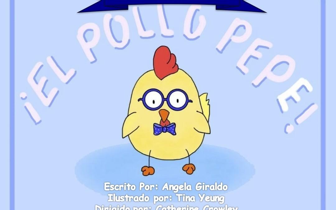 Libro para practicar la P y B – El Pollo Pepe