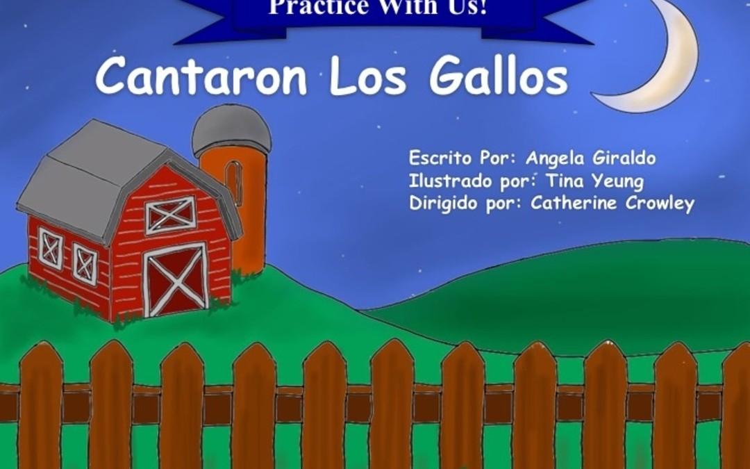 Libro para practicar la K, G, Ñ – Cantaron los Gallos