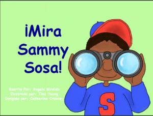 Forro de Mira Sammy Sosa / Cover of Mira Sammy Sosa