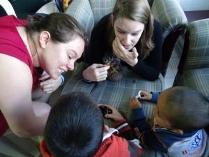 Therapy at El Hospital Niños de la mano de Maria