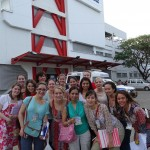 Picture of Group outside of Hospital in Neiva