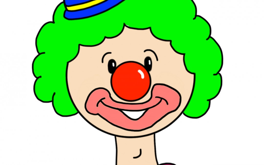 Cleft Palate Articulation Illustration: Mitty the Clown