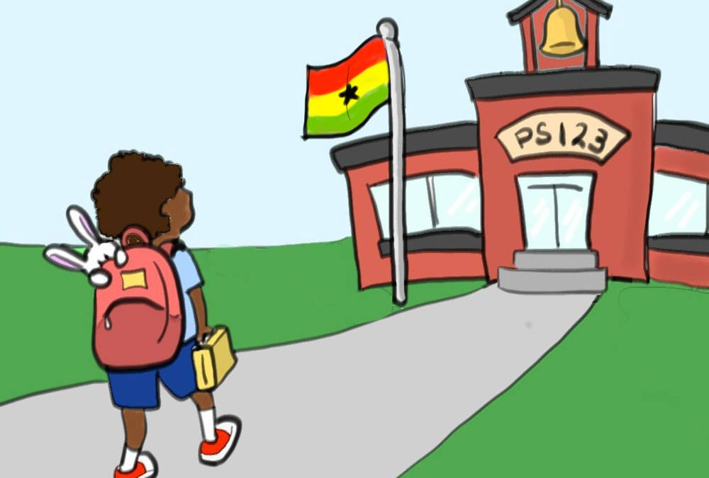SLAM Bunny Goes to School Cards – Ghana