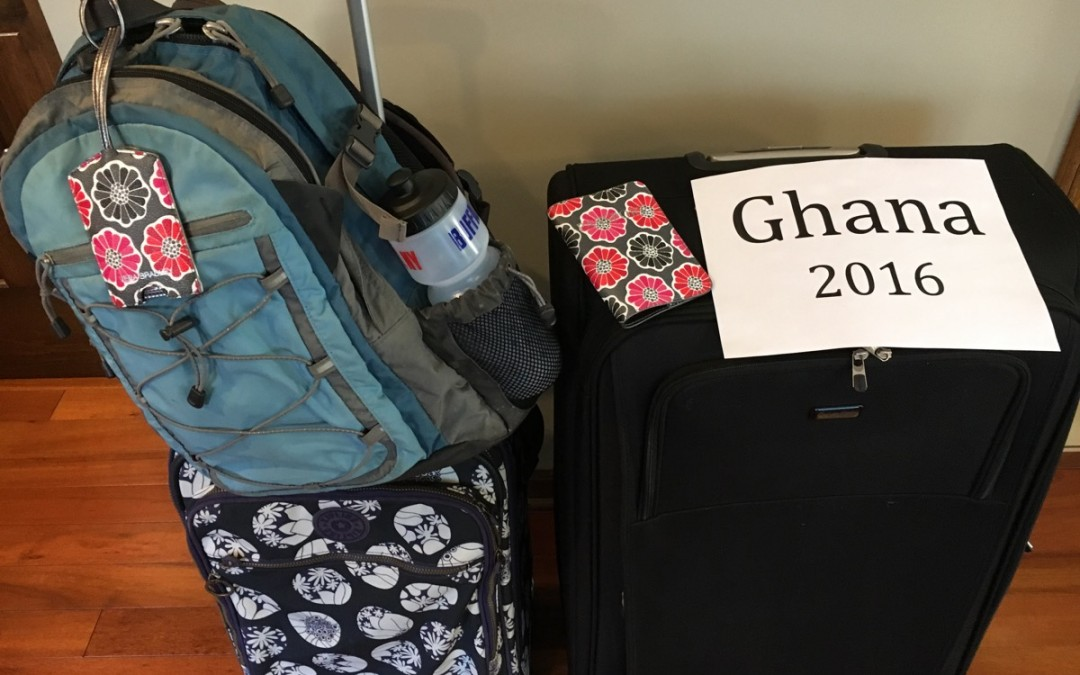 Getting ready for Ghana (Ghana 2016)
