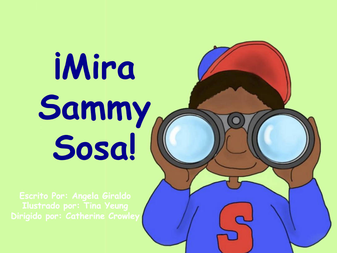 Cover of Sammy Sosa Book