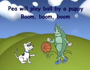 Pea Will Play Ball Page 9