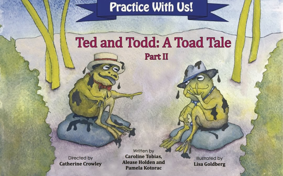(English) Cleft Palate Practice for T and D – Ted and Todd Part 2