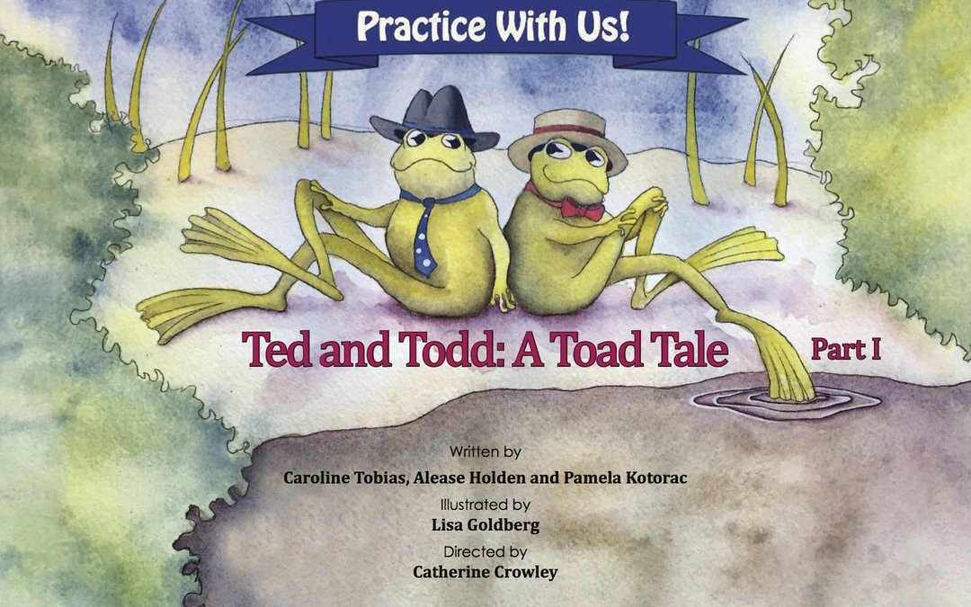 (English) Cleft Palate Practice for T and D – Ted and Todd Part 1