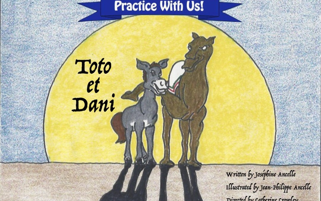 (French) Cleft Palate Practice for T and D – Toto et Dani