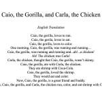 Caio e Carla Translation Page