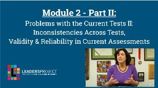 Early Intervention Evaluations- Module 2b- Standardized Test Misuse