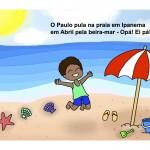 Paulo Na Praia Page 1