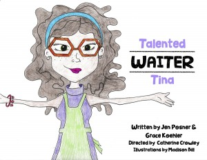 Talented Waiter Tina Cover
