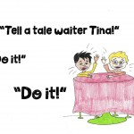 Talented Waiter Tina Page 9