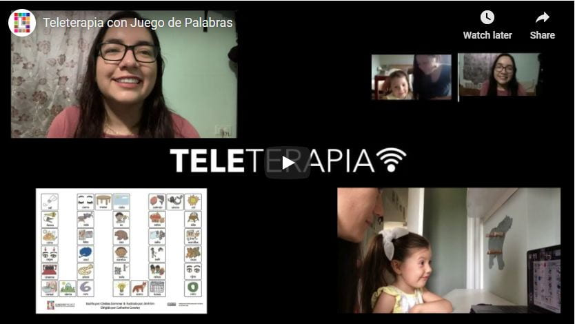 Cómo hacer teleterapia con juego de palabras