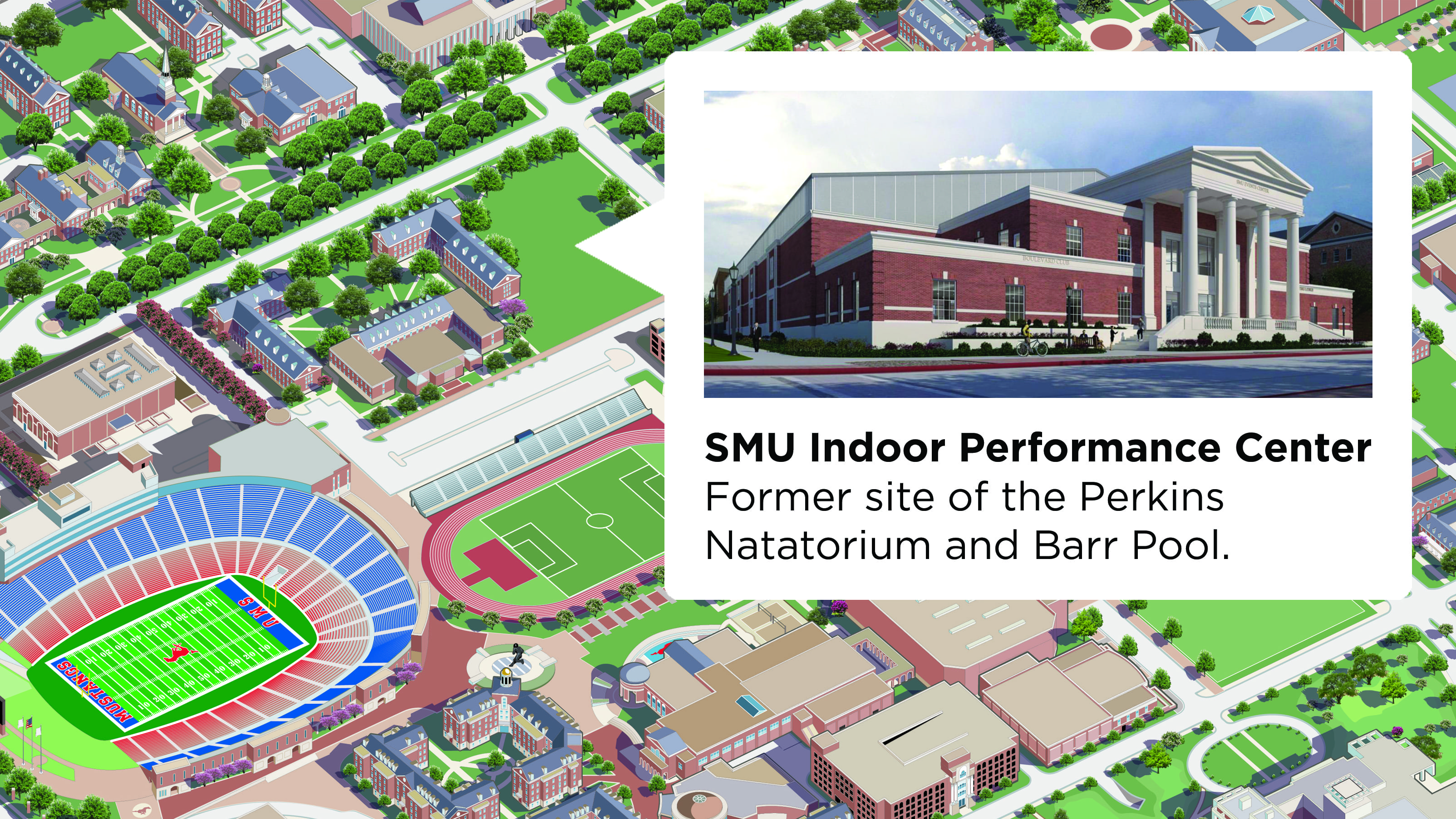 Indoor Performance Center Map