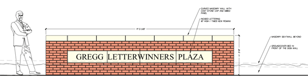 Letterwinners Plaza Concept
