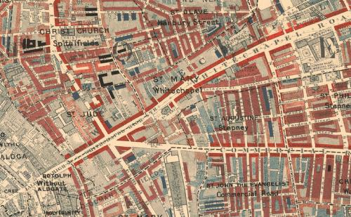 Whitechapel East End Of London Virtually Literature And: Whitechapel London Map At Infoasik.co
