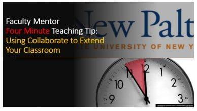 Four Minute Teaching Tip