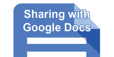 Sharing with Google docs post icon