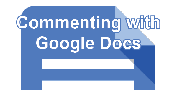 Commenting with Google Docs post icon