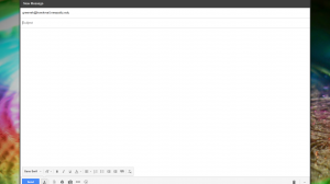 Gmail window opened with the recipient being the student you selected,