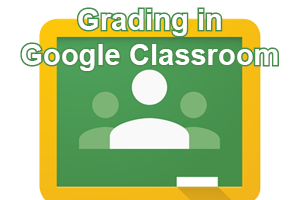 Grading in Google Classroom post icon