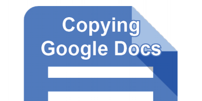 Copying Google Docs post icon