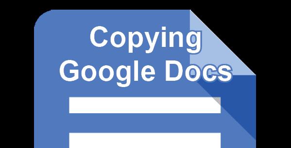 Copying Google Docs post icon