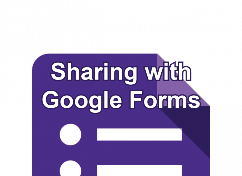 Sharing with Google Forms post icon