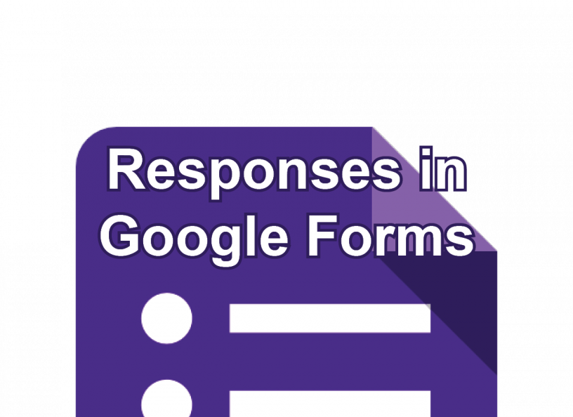 Responses in Google Form post icon