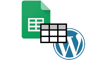 Add tables to WordPress using Google Sheets post icon