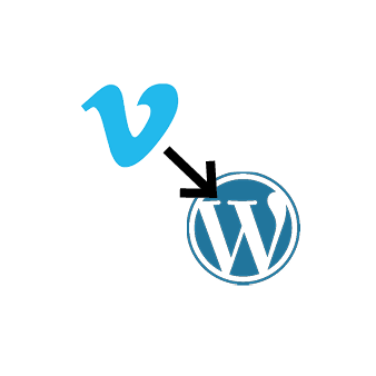 Vimeo to WordPress post icon