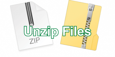 Unzip Files Post icon