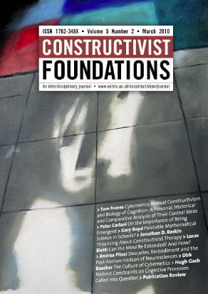 Constructivist Foundations (Vol. 5, Issue 2)