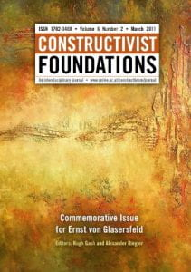 Constructivist Foundations 6.2