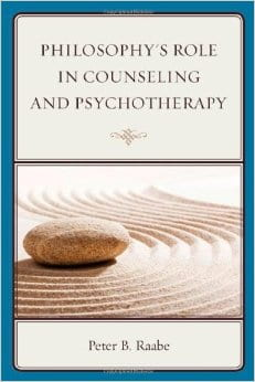 """Cover, """"Philosophy's Role in Counseling"""""""